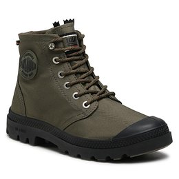Outdoorová obuv PALLADIUM - Pampa Hi Rc Lite+ Wp+ Z 77037-309-M Olive Night
