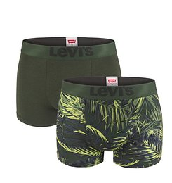 LEVI`S - 2 PACK Levi`s tropical fern high comfort boxerky -XL (95 - 105 cm)