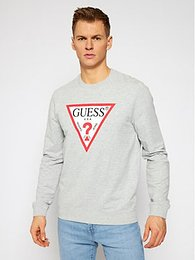 Guess Mikina M1RQ37 K6ZS1 Sivá Slim Fit