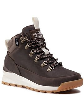 The North Face Trekingová obuv Back-To-Berkley Mid Wp NF0A4AZFMJ4 Hnedá