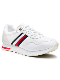 Tommy Hilfiger Sneakersy Casual City Runner FW0FW05560 Biela