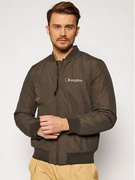 Champion Bomber bunda Trade Rochester 214892 Zelená Regular Fit