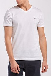 TRIČKO GANT ORIGINAL SLIM V-NECK T-SHIRT