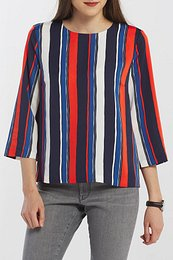KOŠEĽA GANT D1. PREPPY STRIPE RELAXED TOP