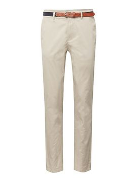 SELECTED HOMME Nohavice 'SLHSLIM-YARD SILVER LINING PANTS W'  krémová