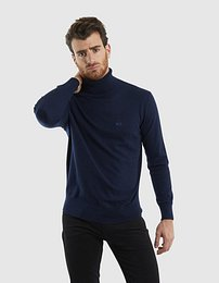 Sveter La Martina Man Tricot Turtle Neck Gg14