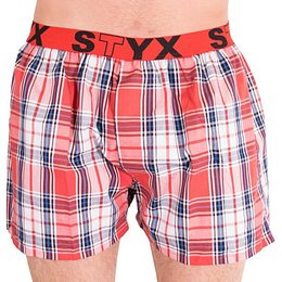 Men's shorts Styx sports rubber multicolored (B602)