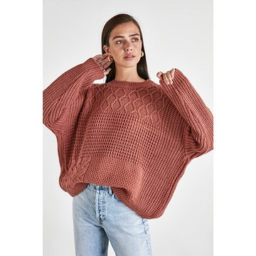 Trendyol Rose Dry KnitTed Knitted Knitwear Sweater
