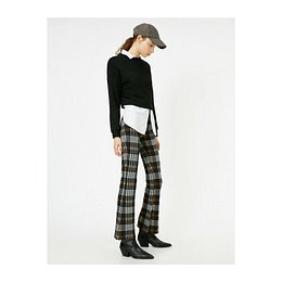 Koton Checkered Pants