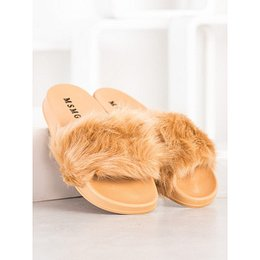 SHELOVET RUBBER FLAPS WITH FUR