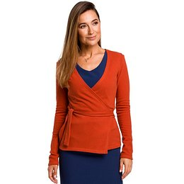 Stylove Woman's Cardigan S173 Ginger