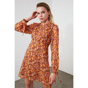 Trendyol Multi-Color Patterned Dress