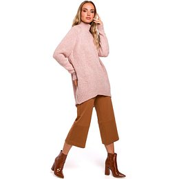Made Of Emotion Woman's Pullover M468 Powder