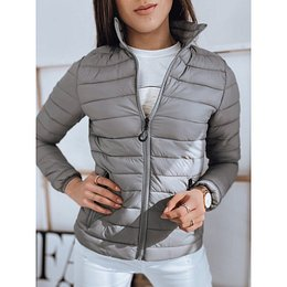 Women's quilted jacket EMMA gray TY1745