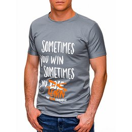Edoti Men's printed t-shirt S1425