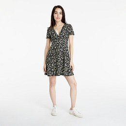 Tommy Jeans Fit Flare Floral Print Dress Floral Print S
