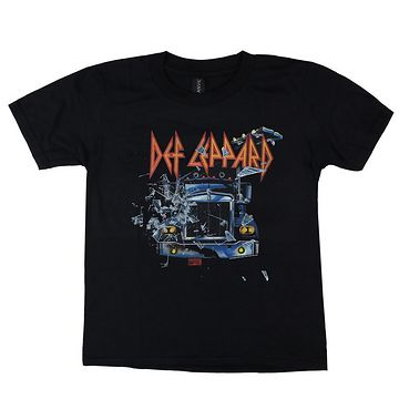 tričko detské Def Leppard - On through the night - LOW FREQUENCY - DLTS08046KD