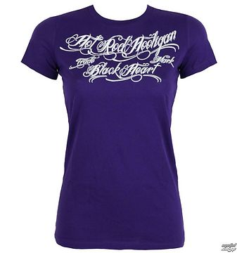 tričko dámske BLACK HEART - HOT ROD - PURPLE - 010-0007-PR