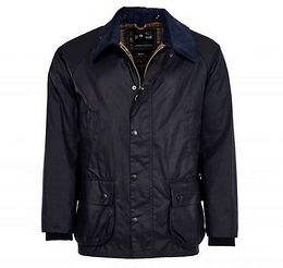 Barbour Voskovaná bunda Barbour Bedale - navy