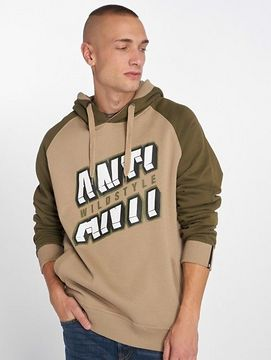 Dangerous DNGRS / Hoodie Anti in olive - S