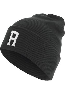 Master Dis Letter Cuff Knit Beanie R - One Size