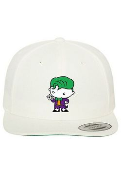 Mr. Tee Joker Comic Snapback natural - Uni