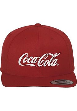 Mr. Tee Coca Cola Logo Snapback red - Uni