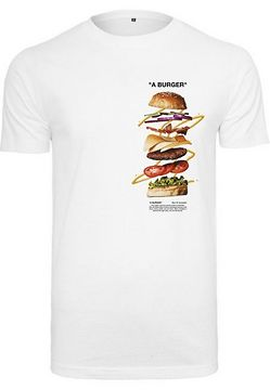 Mr. Tee A Burger Tee white - L