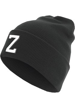 Master Dis Letter Cuff Knit Beanie Z - One Size