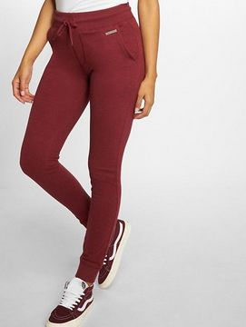 Just Rhyse / Sweat Pant Poppy in red - XL