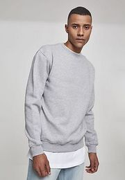 Urban Classics Crewneck Sweatshirt grey - 3XL