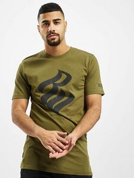 Rocawear / T-Shirt NY 1999 in olive - 2XL