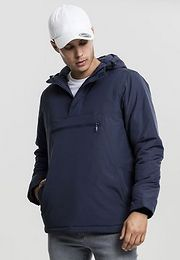 Urban Classics Padded Pull Over Jacket navy - S