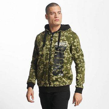 Dangerous DNGRS / Zip Hoodie Unexpected in camouflage - S
