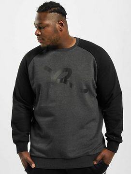 Rocawear / Jumper Big Raglan in grey - 7XL