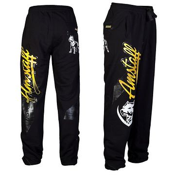 AMSTAFF PRYOR SWEATPANTS - BLACK - 2XL / čierna