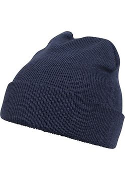 Master Dis Beanie Basic Flap navy - One Size