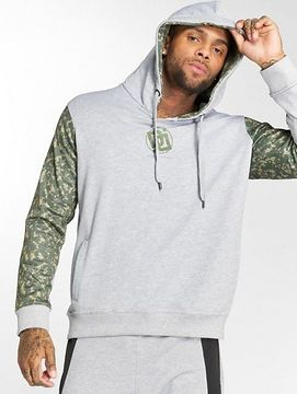 Dangerous DNGRS / Hoodie Broker in grey - L