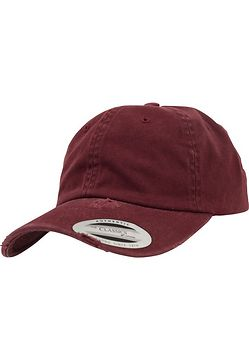 Urban Classics Low Profile Destroyed Cap maroon - One Size