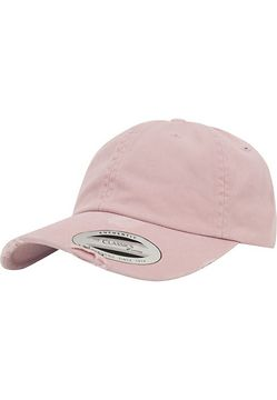 Urban Classics Low Profile Destroyed Cap pink - One Size