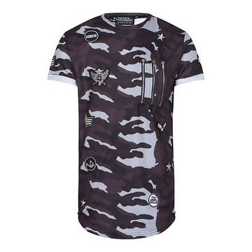 The New Designers Sperone Tee Camo Grey - M