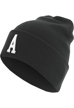 Master Dis Letter Cuff Knit Beanie A - One Size