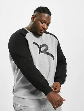 Rocawear / Jumper Big Raglan in grey - 3XL