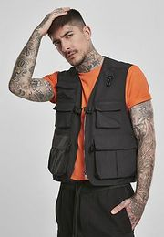 Urban Classics   Tactical Vest black - 5XL