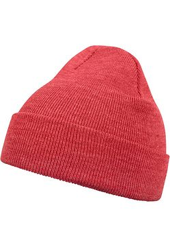 Master Dis Beanie Basic Flap h.red - One Size