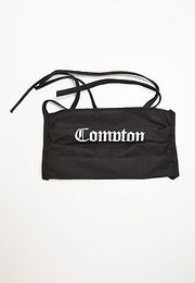 Mister Tee Compton Face Mask black - One Size