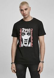 Mister Tee Tupac Boxed In Tee black - S