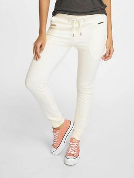Just Rhyse / Sweat Pant Poppy in white - L