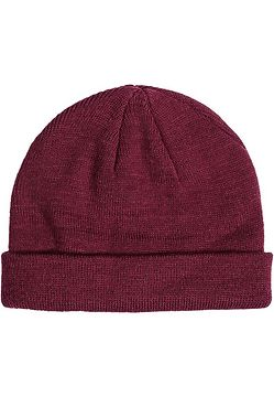 Master Dis Short Cuff Knit Beanie maroon - One Size