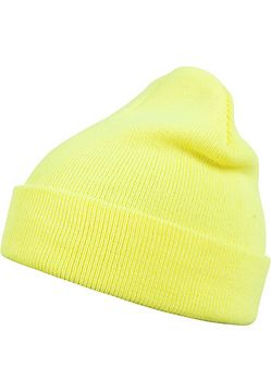 Master Dis Beanie Basic Flap neonyellow - One Size